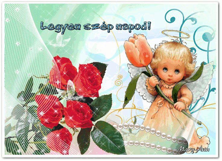 Legyen szép napod! - s 01 képeslapok