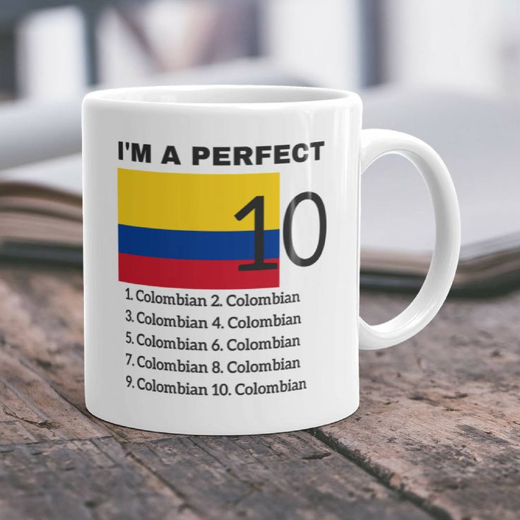Colombian Gift Colombia Mug Colombian Mom Gift Colombian Dad Gift Colombia Flag Colombia Pride Funny Colombia Gift Fun Colombian Gift by DesignNovelties on Etsy