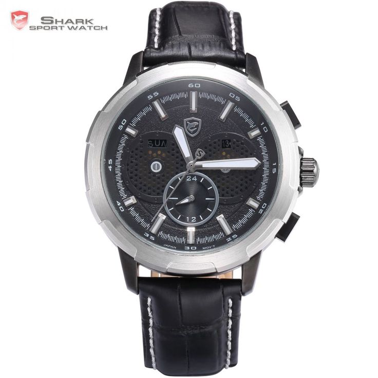 Horn Shark Watch Auto Date Day Display Luminous Hands Silver Case Black Dial Leather Band Strap Watches Mens Wristwatch / SH356     Tag a friend who would love this!     FREE Shipping Worldwide     Buy one here---> https://shoppingafter.com/products/horn-shark-watch-auto-date-day-display-luminous-hands-silver-case-black-dial-leather-band-strap-watches-mens-wristwatch-sh356/