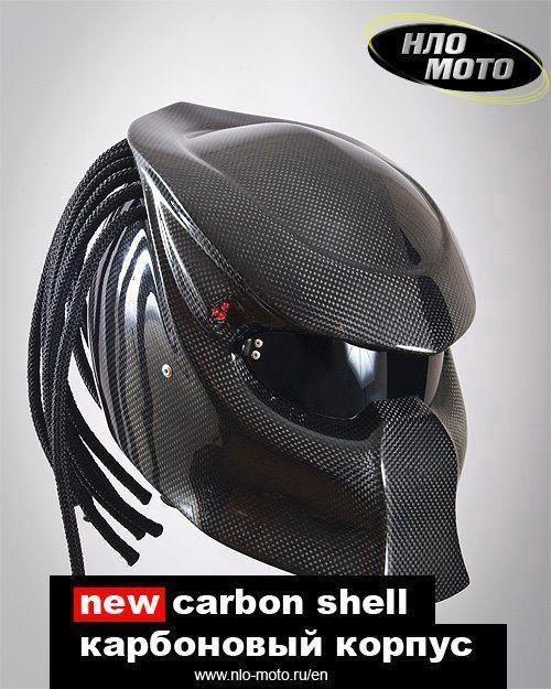 Predator helmet! Got to love this http://io9.com/predator-motorcycle-helmets-because-you-aint-got-time-476921710