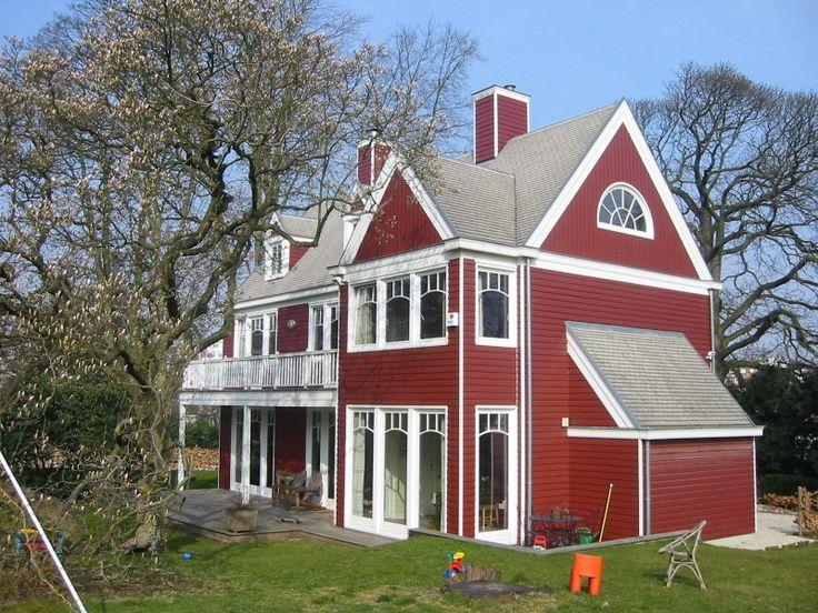 Maison en bois style nouvelle angleterre