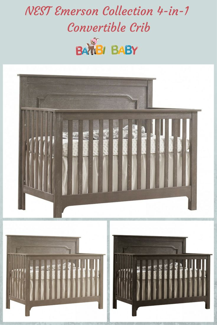 Baby cribs made in canada - 4 In 1 Crib Converts Into A Day Bed Toddler Bed Double
