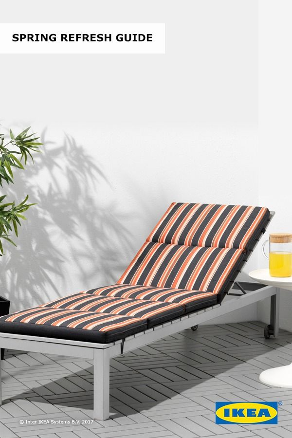 Latest find ikea outdoor seating that fits your backyard for Chaise bernhard ikea
