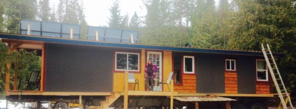 Mother S 45ft High Boy Tiny House On Semi Truck Trailer Truck Living Truck House Truck And Trailer