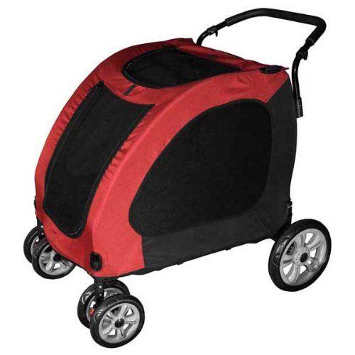 Pet Gear Expedition Pet Stroller - Burgundy or Blue - http://catstroller.bgmao.com/pet-gear-expedition-pet-stroller-burgundy-or-blue/