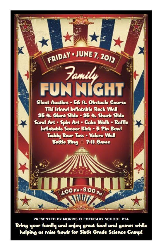 Family Fun Night presented by Morris Elementary School PTA