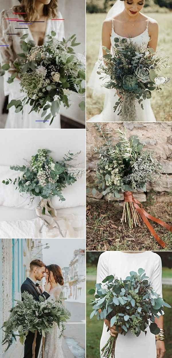 20 Gorgeous And Trendy Greenery Wedding Bouquets Emmalovesweddings In 2020 Blumenstrauss Hochzeit Hochzeit Strauss Brautstrausse