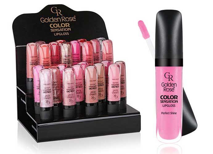 Color Sensation Lipgloss Golden Rose