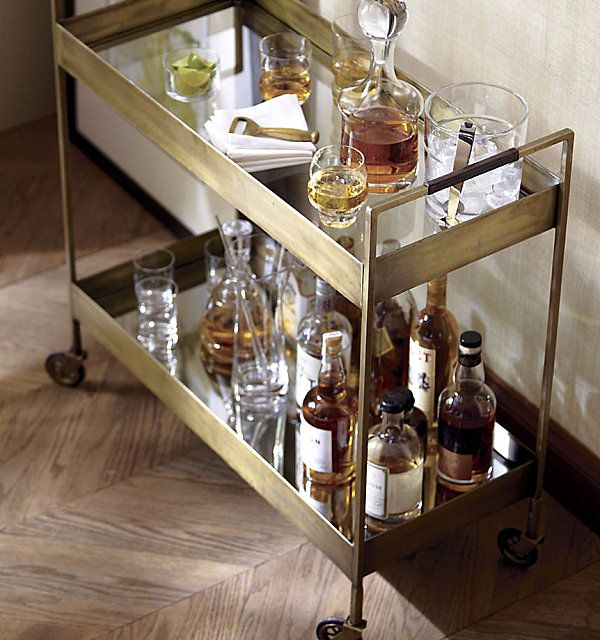 Keep your bar cart well-stocked with favorites.