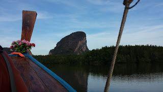 """""""Khao Lak"""" Thailand: """"James Bond Felsen""""  Khao Tapu mit seiner Insel Kh..."""