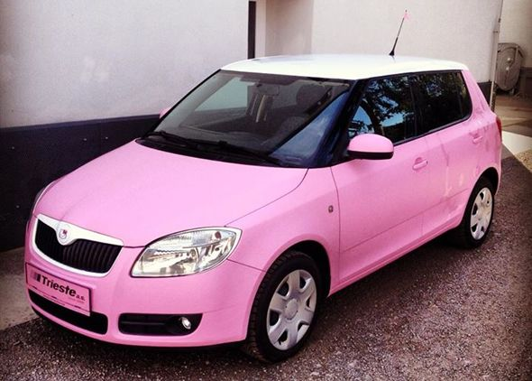 BMW X5 Wheels >> Skoda Fabia gets a Hello Kitty themed pink makeover ...