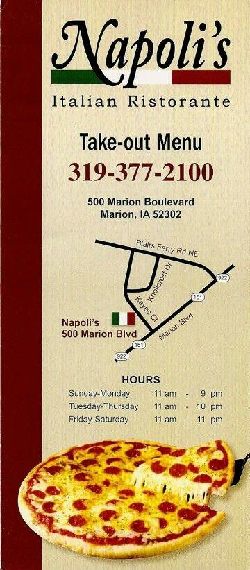 Napoli's in Marion, Iowa