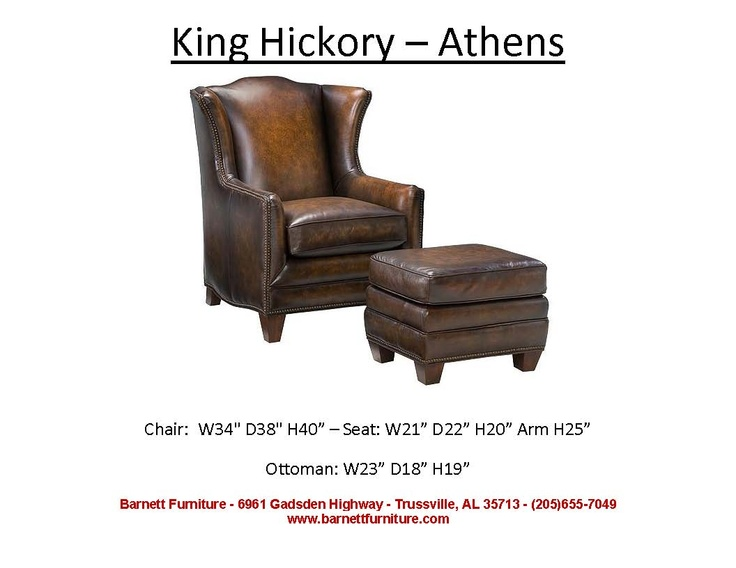Shop For King Hickory Athens Leather Chair, And Other Living Room Chairs At Hickory  Furniture Mart In Hickory, NC.