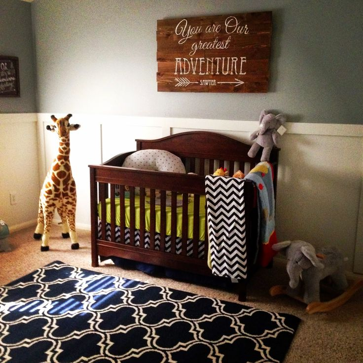Our Little Baby Boy S Neutral Room: You Are Our Greatest Adventure Wooden Sign.