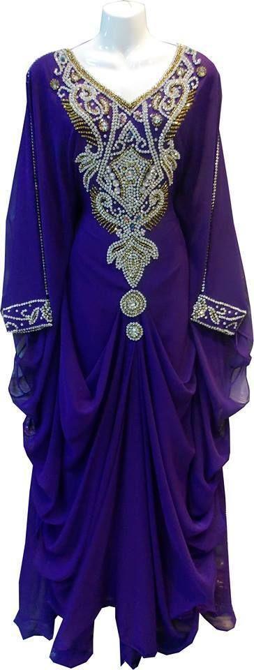 NEW ARABIAN KAFTAN JALABIYA JILBAB WEDDING GOWN DRESS FANCY CAFTAN ISLAMIC HIJAB #imported #EmpireWaist #Casual