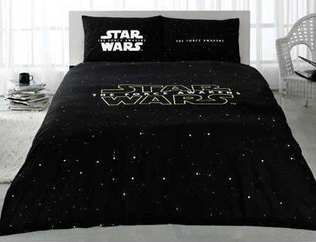 The Force Awakens Star Wars Licensed 100% Cotton 4pcs Full - Queen Size Bedding Linens //Price: $52.64 & FREE Shipping //     #starwarscollection