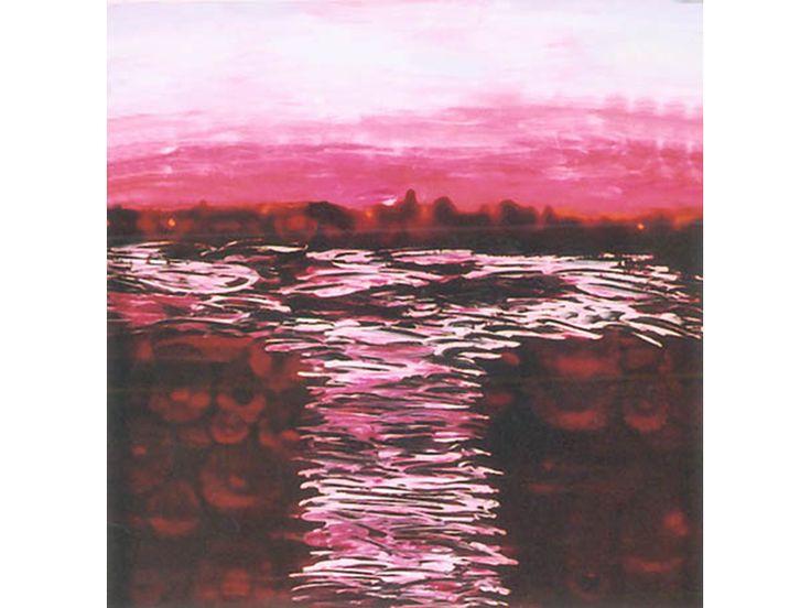 Pink Coat 2005 - French enamel on glass (360 x 360)