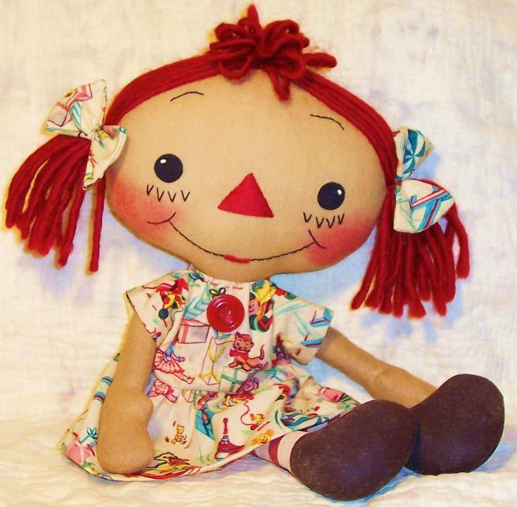 Free Rag Doll Patterns | ... . Adorable homemade rag doll sewing patterns from Snowdrop Patterns