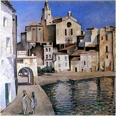 Cadaques by Salvador Dali 1924