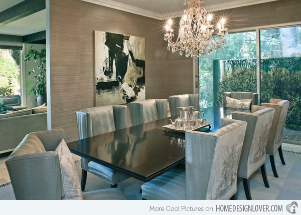 25 best ideas about contemporary dining room sets on for Beautiful modern dining rooms