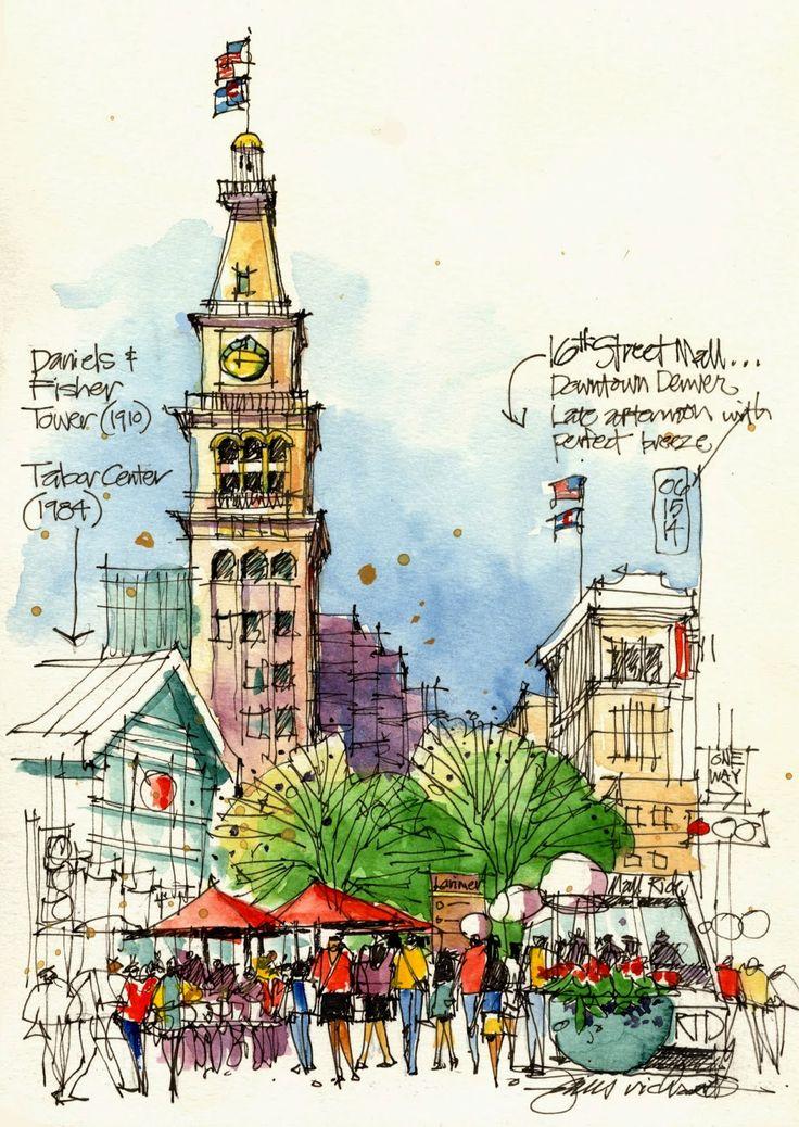 Urban Sketchers to lead Denver SketchCrawl in November