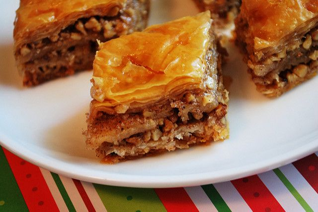 Share Tweet Pin Mail I don't know if baklava is typically considered a holiday goodie but it's always been one in my mind. My ...