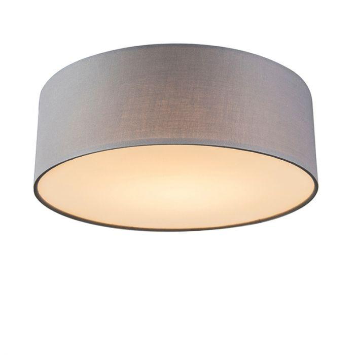 30 GrijsLamp LampLights Drum Ceiling Led Plafonniere iuTPOXZk