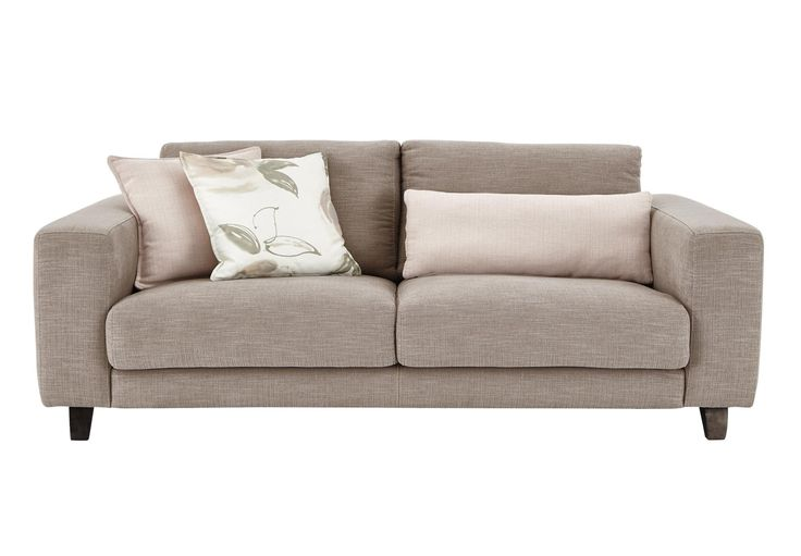 3 Seater Sofa - Kick fawn - Living room furniture, sets & ideas | Furniture Village