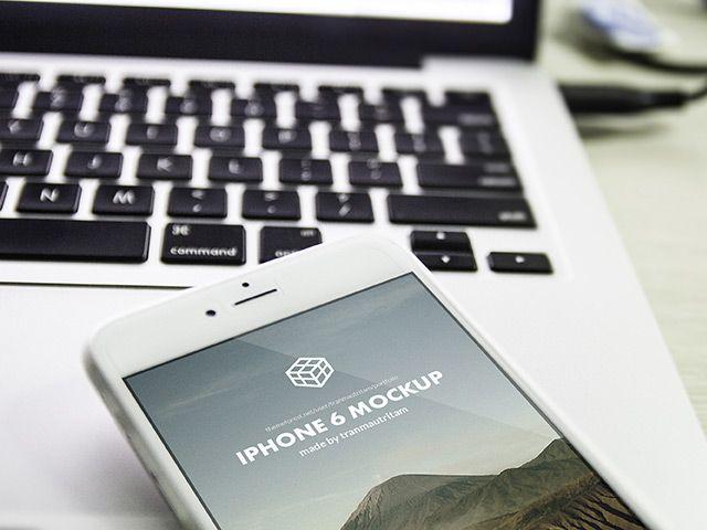 5 photographic iPhone 6 Plus mockups