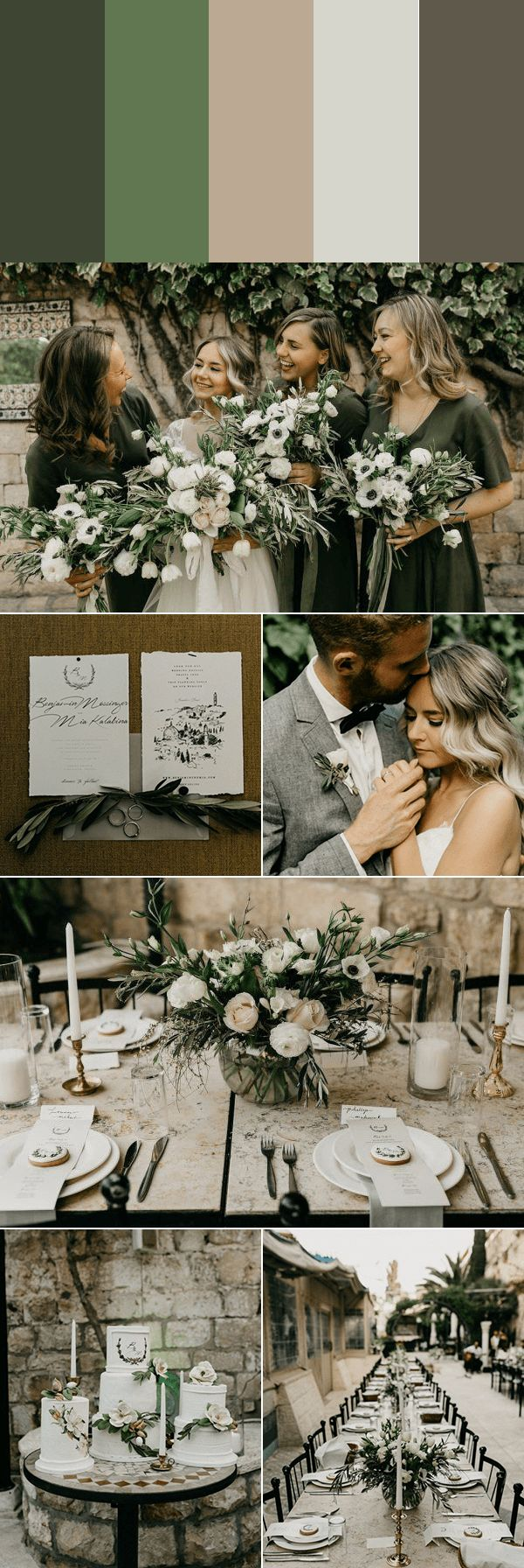 These 5 Muted Wedding Color Palettes are Timeless with a Trendy Twist   Junebug Weddings