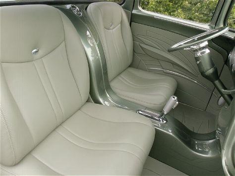 1956 Ford F100 Custom Truck Interior
