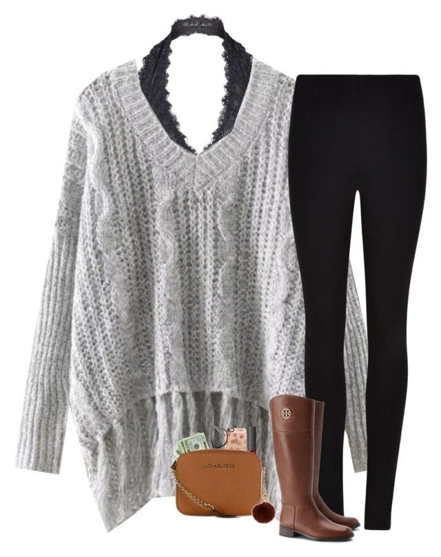 """""""I guess I'm going down like this"""" by hailstails ❤ liked on Polyvore featuring Free People, Winser London, NARS Cosmetics, Tory Burch, Casetify, Ray-Ban, MICHAEL Michael Kors and Yves Salomon"""
