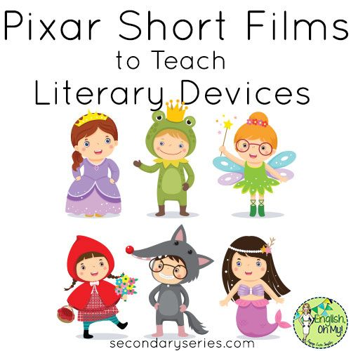 Using Pixar Short Films to Teach & Review Literary Devices https://secondaryseries.com/2017/06/using-pixar-short-films-to-teach-review-literary-devices/?utm_content=buffer7968d&utm_medium=social&utm_source=pinterest.com&utm_campaign=buffer
