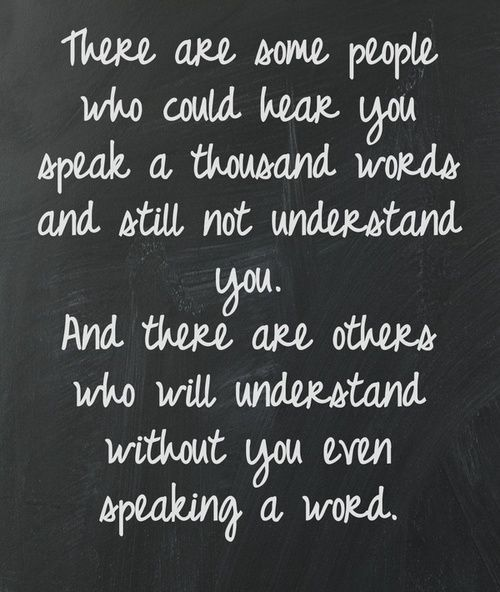 ...and those are the best people to have in your life