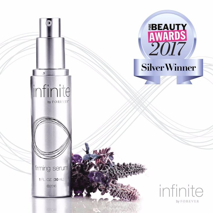 Infinite By Forever Firming Serum takes Silver in Best New Premium Anti-Ageing Product @FibrePR #purebeautyawards