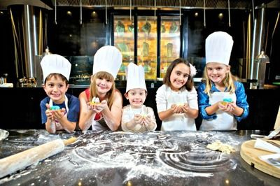 kids cooking classes :  school holiday workshops