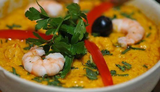 Vatapá, una deliciosa comida de origen bahiano, otro platillo típico de Brasil.