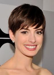 Short Hair -  Anne Hathaway