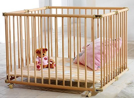 кроватка-манеж для новорожденных
