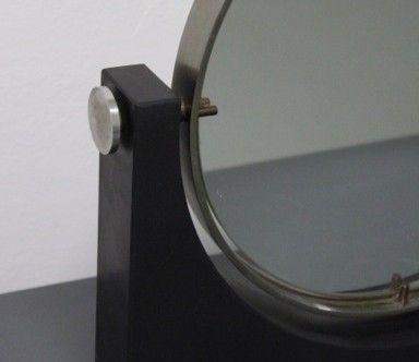 specchio da tavolo base marmo produzione italiana anni '60  2