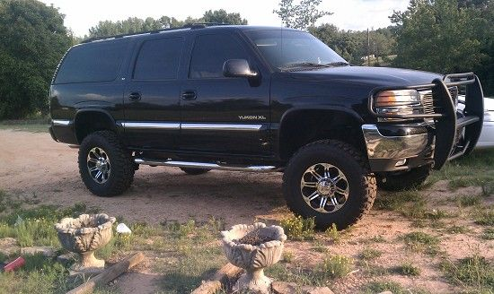 lifted yukon | 2000 GMC yukon XL $1 Possible Trade - 100413539 | Custom Lifted Truck ...