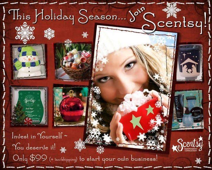 The Holiday Season, Join Scentsy!  RaeAnn 270-872-3378 https://RaeAnn.Scentsy.us https://fb.com/RaeAnn.Scentsy