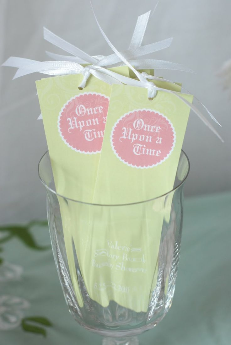 "Cute favors! You can put the child's name, etc on it, then say something like Thank you for being part of my "" Happily Ever After""."