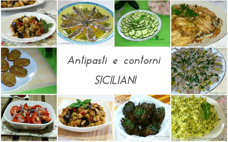 Ricette+di+antipasti+e+contorni+siciliani