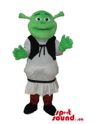 Shrek The Green Ogre Well-Known Movie Character Flashy Mascot SpotSound US @ niftywarehouse.com #NiftyWarehouse #Shrek #Movies #Movie