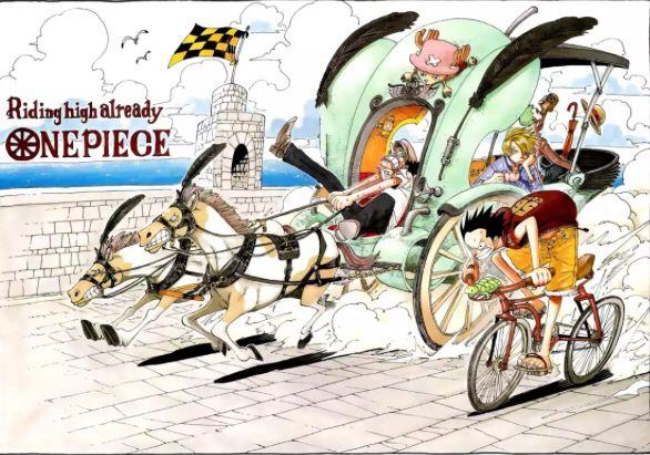 Manga One Piece   Anime, Pluto the dog, Riding
