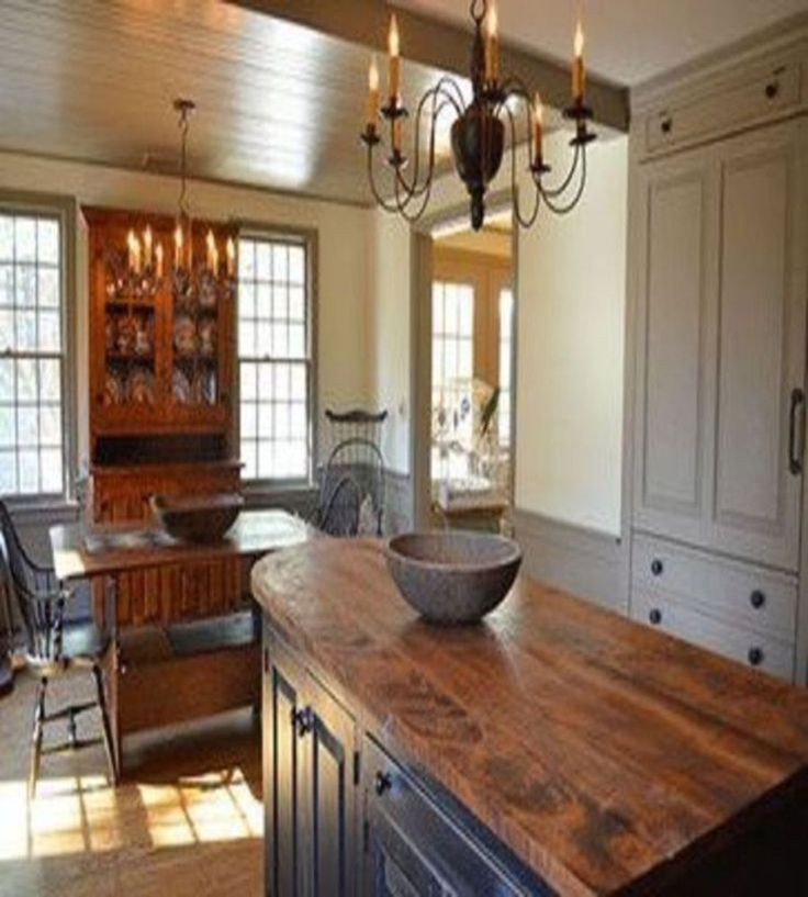 450 Best Primitive Kitchens Images On Pinterest Cottage Kitchens Country Kitchens And