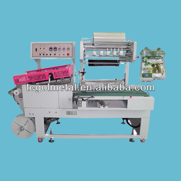 mooncake/lunch/bento/hamburg/Bread auto heat shrink wrap machine
