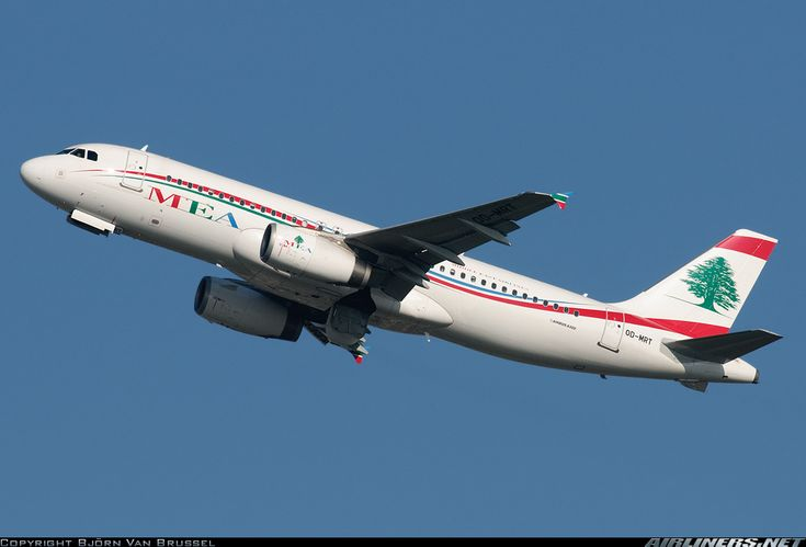 Middle East Airlines - MEA OD-MRT Airbus A320-232