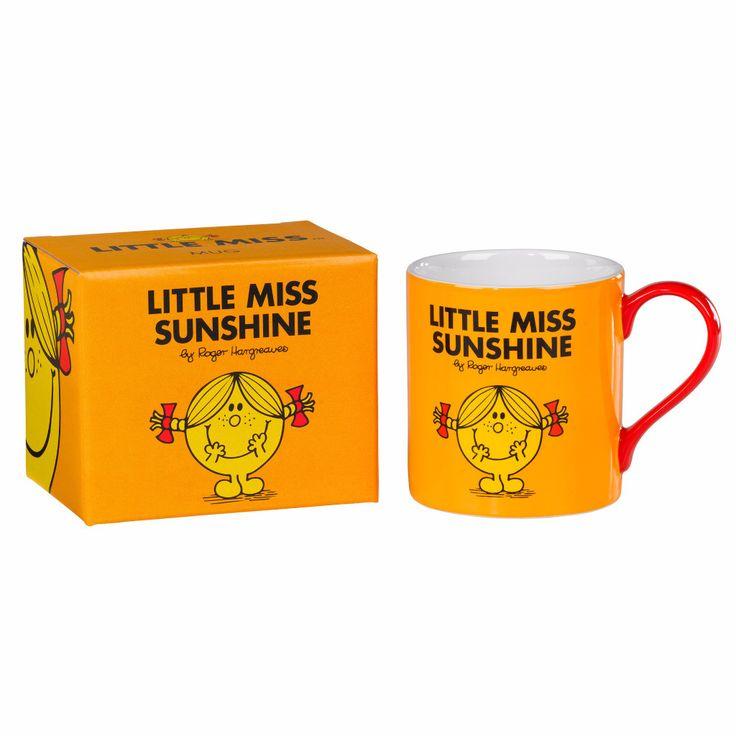 "MR. MEN AND LITTLE MISS ""Little Miss Sunshine"" Mug"
